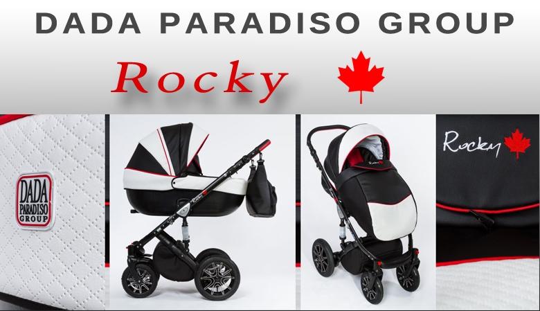 Wózek dziecięcy wielofunkcyjny - Rocky